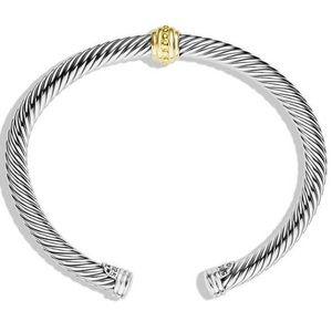 David Yurman Jewelry - David Yurman Cable classics one station Bracelet
